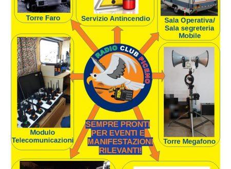 Radio Club Piceno e il suo impegno negli eventi SAFETY